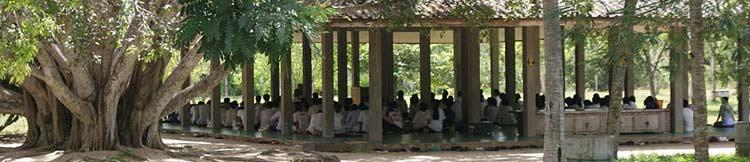 Centre de méditation en Thailande