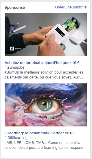 referencement payant facebook ads
